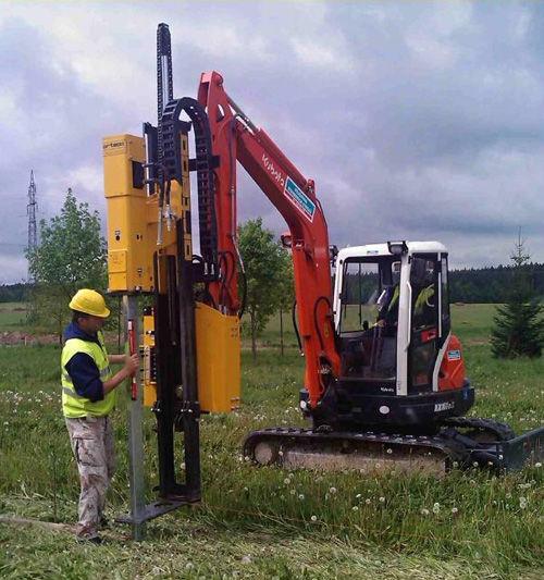 600J - 800J - 1000J - on excavator Pile driver