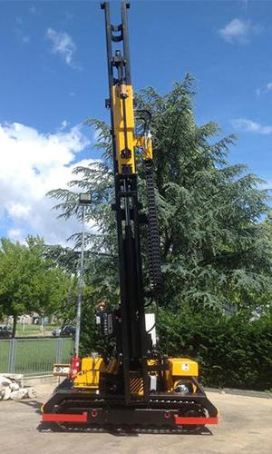 FEX 1000 6m crawler munted Pile driver