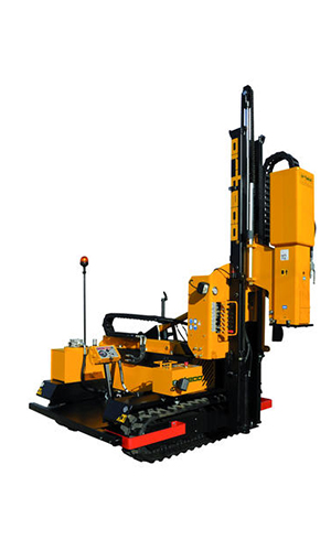 HD 1000 crawler mounted Pile driver