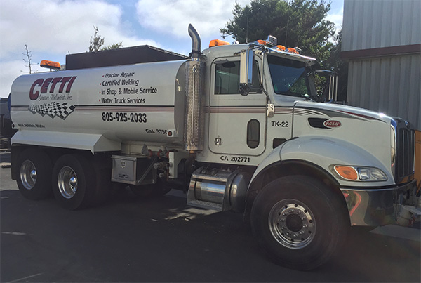Cetti Services Water Truck 01